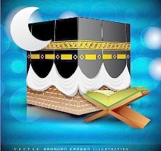 伊斯兰教斋月背景图片