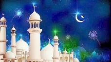 清真寺建筑背景图片