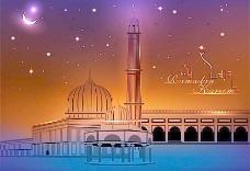 清真寺背景图片
