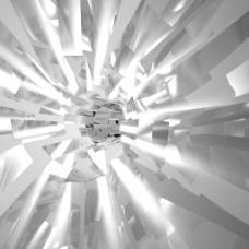 闪亮的金属或爆炸碎片玻璃背景