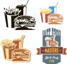 漢堡薯條圖片