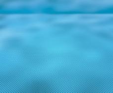 蓝色的透视纹理的舞台背景