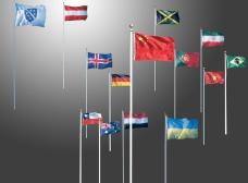 多种国旗集合