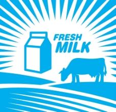 牛奶设计图片