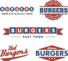 汉堡图标图片