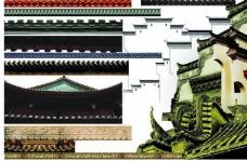 古典房檐图片