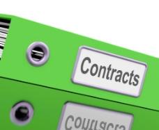 合同文件显示法律业务协议