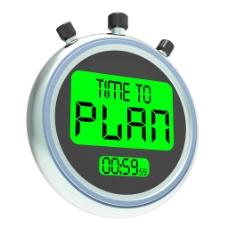 时间计划消息显示组织战略与规划