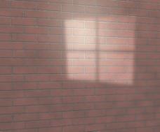 窗户光砖的纹理工作室背景
