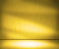 黄金金属室背景