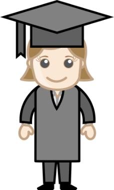 毕业的女孩