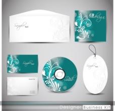 专业的企业形象套件或商业试剂盒与艺术