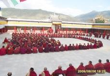 喇嘛寺庙里所见图片
