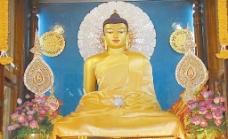 印度正觉塔释迦牟尼佛等身相图片