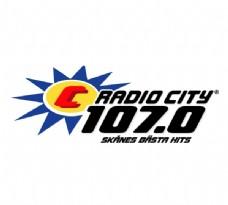 Radio City 107 0 logo设计欣赏 Radio City 107 0下载标志设计欣赏