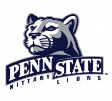Penn_State_Lions(4) logo设计欣赏 Penn_State_Lions(4)综合大学LOGO下载标志设计欣赏