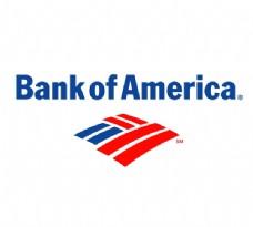 Bank_of_America(1) logo设计欣赏 Bank_of_America(1)国际银行LOGO下载标志设计欣赏