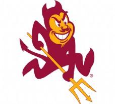 Arizona_State_Sun_Devils logo设计欣赏 Arizona_State_Sun_Devils大学标志下载标志设计欣赏