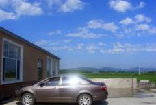 自用汽车摄影图片
