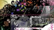 PSD花纹花边图片