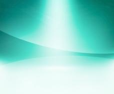 蓝绿色的辉光背景