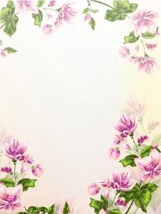 百花背景底纹图片