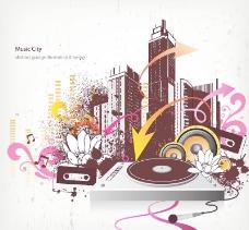 潮流音乐背景图片