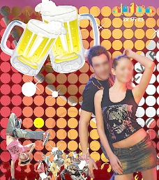 酒吧扎啤图片