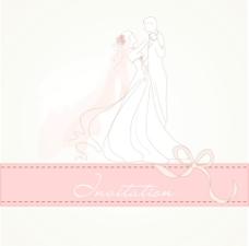老式婚礼背景