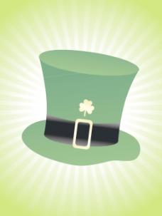 摘要射线背景的帽子17三月