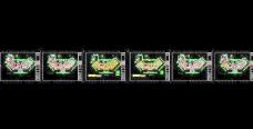 康大国际酒店电气平面布置图及系统图