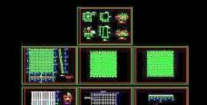 电影院观众厅网架结构设计图