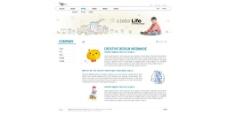 手绘风格插画儿童网页图片