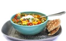 蔬菜浓汤图片
