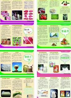 食品安全宣传三折页图片