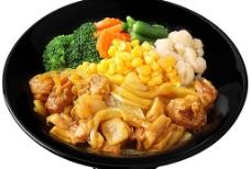 咖喱鸡肉丼图片