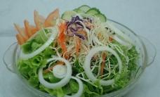 日式蔬菜沙拉图片