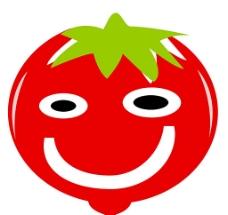 卡通蔬菜(番茄)图片