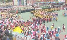 甘孜藏族自治州60年周庆表演图片