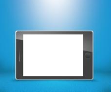 手机触摸屏的蓝色背景
