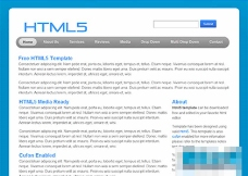 非常简洁的html5博客模板下载