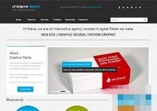 黑色画册设计企业官网HTML5模板