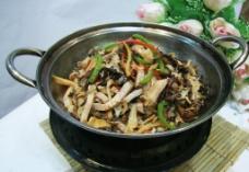 干锅什锦野菌图片
