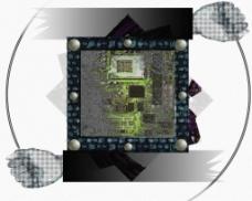 芯片科技背景