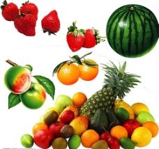 高清晰已抠图水果蔬菜图片素材