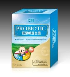 益生菌包装盒(平面图)图片