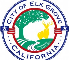 City_of_Elk_Grove logo设计欣赏 City_of_Elk_Grove公路运输标志下载标志设计欣赏