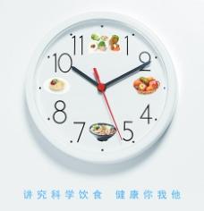 食物时钟图片
