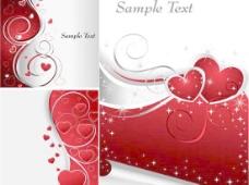 情人节海报设计矢量图下载