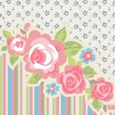 印花矢量图 几何花朵专题 植物 花朵 几何 免费素材